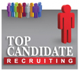 Top Candidate Recruiting Logo